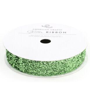 5/8In Lg Glitter Cabbage