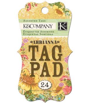 K&Company Abrianna Tag Pad