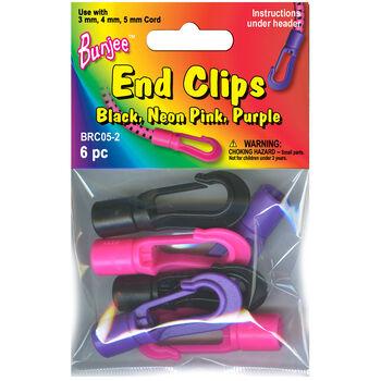 Bungee Bracelet Hook  Black/Pink/Purple