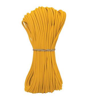 Parachute Cord 4mm X 100'-Yellow