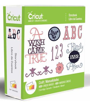 Cricut Provo Craft Font Cartridge Storybook