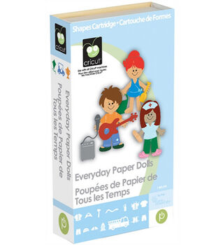 Cricut Shape Cartridge Everyday Paper Dolls