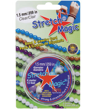 Stretch Magic 1.5mm Bead & Jewelry Cord-4 meters/Clear