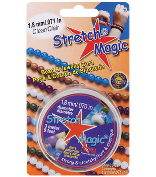 Stretch Magic 1.8mm Bead & Jewelry Cord-3 meters/Clear