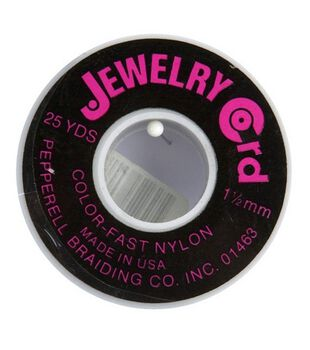 Jewelry 1-1/2'' Nylon Cord-25yds