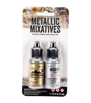 Ranger Tim Holtz Adirondack Alcohol Ink Metallic Mixatives