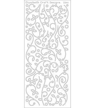 "Elizabeth Craft Designs Peel Off Stickers 4""X9"" Sheet-Gold"