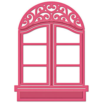 Spellbinders Shapeabilities Die D-Lites-Window 2