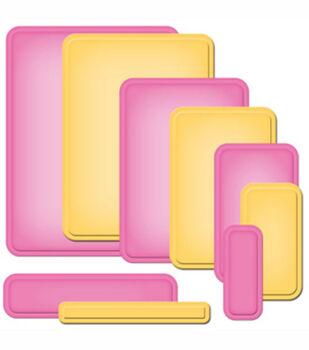 Spellbinders Nestabilities Card Creator A2 Curved Matting Basics B