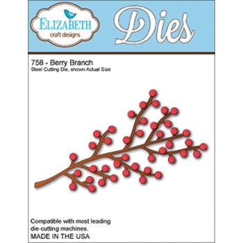 Elizabeth Craft Designs Metal Die Berry Branch