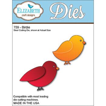 Elizabeth Craft Designs Metal Die Birdie