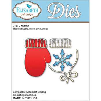Elizabeth Craft Designs Metal Die Mittens
