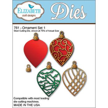 Elizabeth Craft Designs Metal Die Ornament Set 1