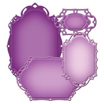 Spellbinders Nestabilities Decorative Elements Dies Decorative Labels 28