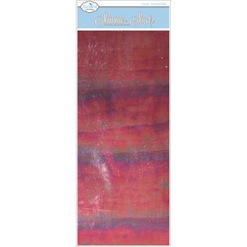 Elizabeth Craft Designs Mylar Shimmer Sheetz- Ruby