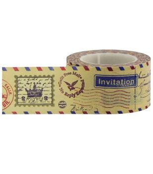 Little B Decorative paper Tape 25mmx15m-Antique Postmark