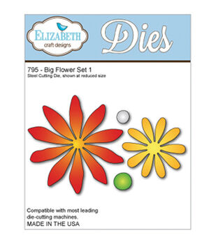 Elizabeth Craft Metal Die-Big Flowerset 1