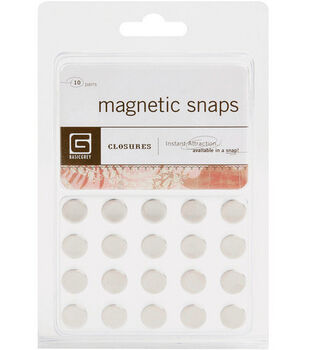 Basic Grey Small Magnetic Snaps