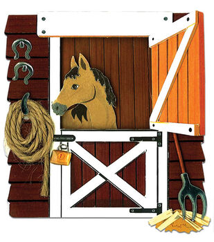 Jolee's By You Dimensional Embellishment-Horse In The Stable