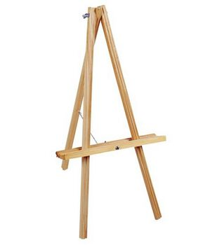 Natural Wood Table Easel 20'' High