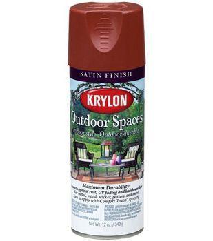 Krylon Outdoor Spaces Satin Finish Aerosol Paint