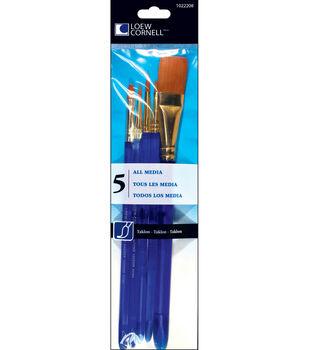 Taklon Craft Brush Set-5/Pk