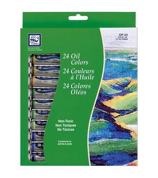 Loew-Cornell Oil Paint Set 12ml 24Pk