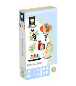 Cricut Provo Craft Shape Cartridge Birthday Bash