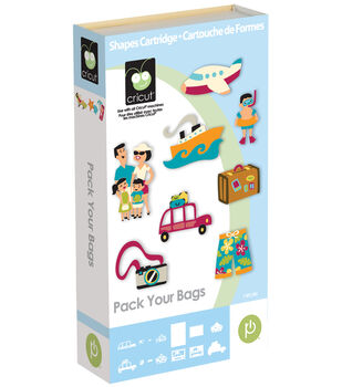 Cricut Provo Craft Shape Cartridge Pack Your Bags