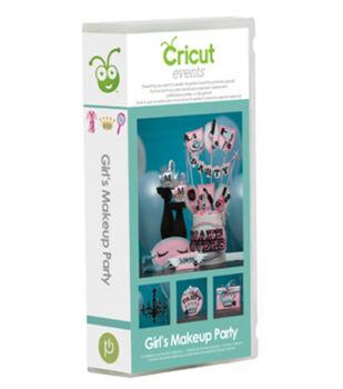 Provo Craft® Cricut® Events Shape Cartridge-Girl's Makeup Party