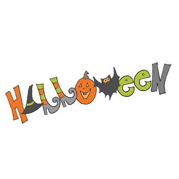 Fnky Hllwn-halloween Cling Stmp