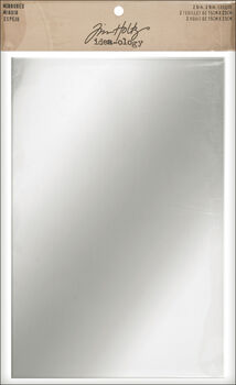 "Idea-Ology Adhesive Backed Mirrored Sheets 6""X9"" 2/Pkg-"