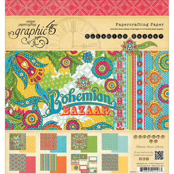 8x8 -bohemian Baz Paprpad