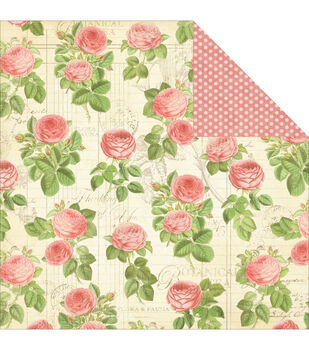 Graphic 45 Flora - Botanical Tea Double Sided Cardstock