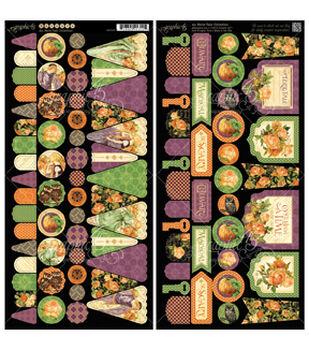 "An Eerie Tale Cardstock Die-Cuts 6""X12"" Sheets 2/Pkg-Banners"