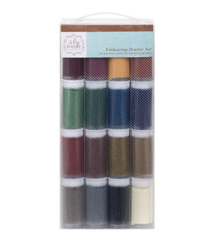 Hampton Art A La Mode Embossing Powder Set Metal