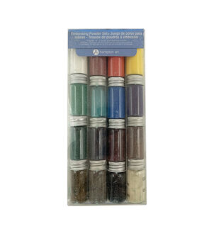 Hampton Art A La Mode Embossing Powder Set Basics