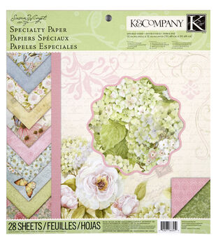 Susan Winget Floral Specialty Paper Pad