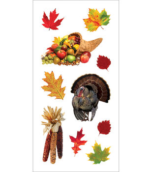 Paper House Stickers-Thanksgiving