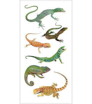 Paper House Stickers-Lizards