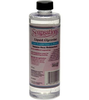 Soapsations Liquid Glycerine-8 oz.