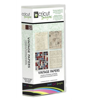 Provo Craft® Cricut® Imagine Colors & Patterns Cartridge-Vintage