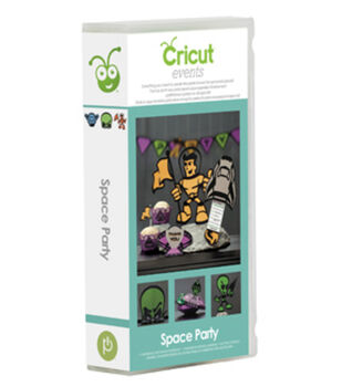 Provo Craft® Cricut® Events Shape Cartridge-Space Party