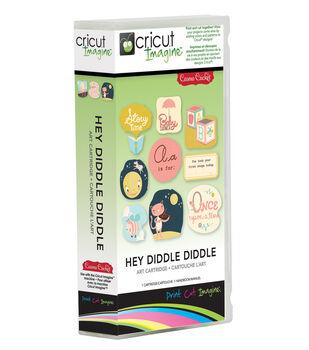Provo Craft® Cricut® Imagine Art Cartridge-Hey Diddle Diddle