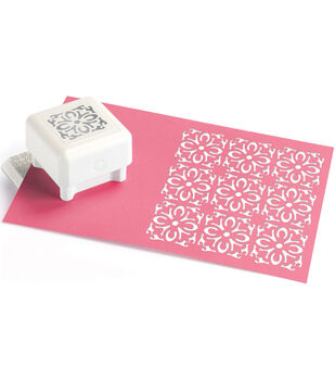 Martha Stewart Punch All Over The Page Pattern Punch-Country Tile