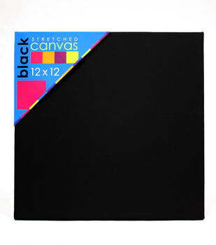 Canvas Artists Black 12X12