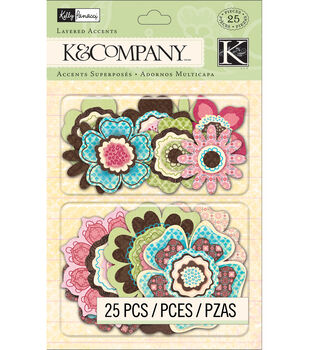 Kelly Panacci Floral Layered Accents