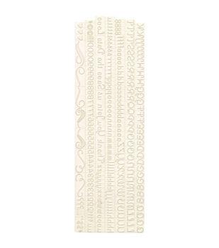Martha Stewart Rubber Stamps 253/Pcs-Loop Script Alpha