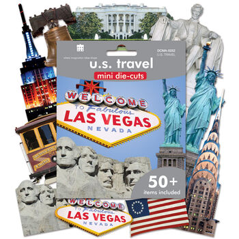Paper House Mini Die Cuts US Travel