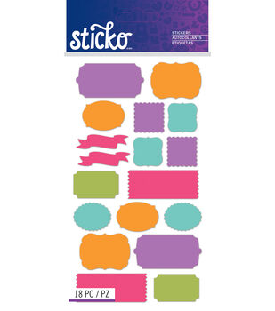 Sticko - Bright Solid Labels